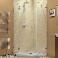 "DreamLine Prism Lux 38""W x 38""D x 72""H Hinged Shower Enclosure Type 151048081 Shower Enclosures in Canada"