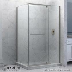 "DreamLine Quatra 34 5/16"" by 34 5/16"" Frameless Pivot Shower Enclosure Type 151047901 Shower Enclosures in Canada"