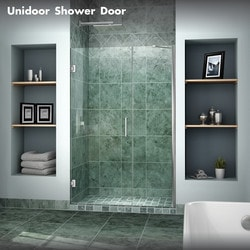 "DreamLine Unidoor 39"" 40"" Frameless Hinged Shower Door Type 151371161 Shower Doors in Canada"