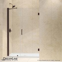 """DreamLine Unidoor 43"""" 44"""" Frameless Hinged Shower Door Type 151371361 Shower Doors in Canada"""