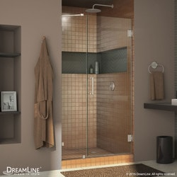 "DreamLine Unidoor Lux 45"" Frameless Hinged Shower Door Type 151373291 Shower Doors in Canada"