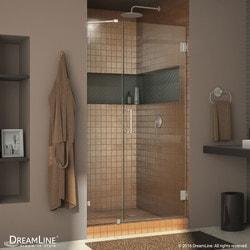 """DreamLine Unidoor Lux 50"""" Frameless Hinged Shower Door Type 151373391 Shower Doors in Canada"""