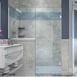 """DreamLine Unidoor Plus 66 5"""" W x 72"""" H Hinged Shower Door II Type 151379261 Shower Doors in Canada"""