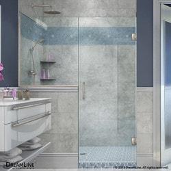 """DreamLine Unidoor Plus 64 5"""" W x 72"""" H Hinged Shower Door Type 151379001 Shower Doors in Canada"""