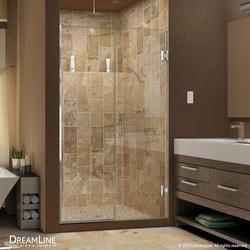 """DreamLine Unidoor Plus 48"""" 48 5"""" W x 72"""" H Hinged Shower Door Type 151375181 Shower Doors in Canada"""
