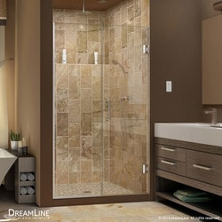 "DreamLine Unidoor Plus 60 5"" 61"" W x 72"" H Hinged Shower Door Type 151376021 Shower Doors in Canada"