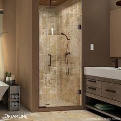 """DreamLine Unidoor Plus 36 5"""" 37"""" W x 72"""" H Hinged Shower Door Type 151374661 Shower Doors in Canada"""