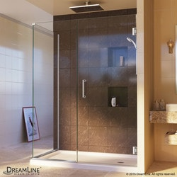 "DreamLine Unidoor Plus 51 1/2""W x 34 3/8""D x 72""H Hinged Shower Enclosure Type 151051001 Shower Enclosures in Canada"