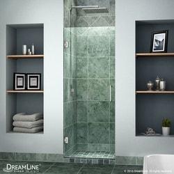 """DreamLine Unidoor 23"""" Frameless Hinged Shower Door Type 151370561 Shower Doors in Canada"""