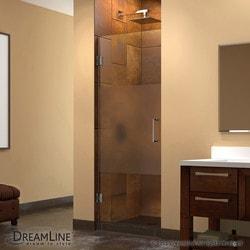 """DreamLine Unidoor 28"""" W x 72"""" H Hinged Shower Door Model 151376241 Shower Doors"""