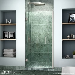 """DreamLine Unidoor 35"""" 36"""" Frameless Hinged Shower Door Type 151370991 Shower Doors in Canada"""