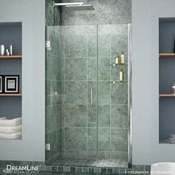 """DreamLine Unidoor 58"""" 59"""" Frameless Hinged Shower Door II Type 151372871 Shower Doors in Canada"""