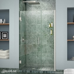 "DreamLine Unidoor 53"" 54"" Frameless Hinged Shower Door III Type 151372671 Shower Doors in Canada"