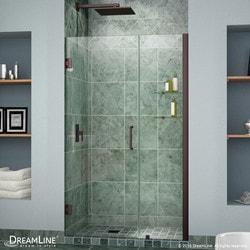"""DreamLine Unidoor 35"""" 36"""" Frameless Hinged Shower Door III Type 151372021 Shower Doors in Canada"""