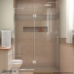 "DreamLine Unidoor X 49"" W x 72"" H Hinged Shower Door Type 151385511 Shower Doors in Canada"