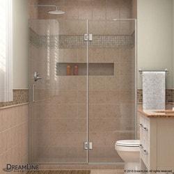 """DreamLine Unidoor X 47"""" W x 72"""" H Hinged Shower Door Model 151385701 Shower Doors"""