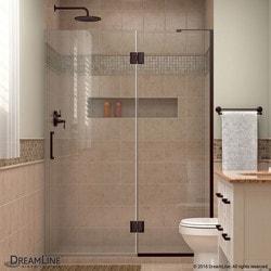 """DreamLine Unidoor X 52"""" W x 72"""" H Hinged Shower Door Type 151385861 Shower Doors in Canada"""