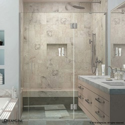 "DreamLine Unidoor X 68 5"" W x 72"" H Hinged Shower Door II Type 151383291 Shower Doors in Canada"
