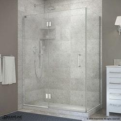 "DreamLine Unidoor X 48 3/8""W x 30""D x 72""H Hinged Shower Enclosure II Type 151058951 Shower Enclosures in Canada"