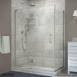 "DreamLine Unidoor X 48 3/8""W x 34""D x 72""H Hinged Shower Enclosure II Type 151058991 Shower Enclosures in Canada"