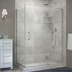 "DreamLine Unidoor X 47 3/8""W x 30""D x 72""H Hinged Shower Enclosure Type 151059021 Shower Enclosures in Canada"