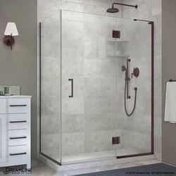 "DreamLine Unidoor X 47 3/8""W x 30""D x 72""H Hinged Shower Enclosure Type 151059031 Shower Enclosures in Canada"