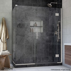 "DreamLine Unidoor X 48""W x 34 375""D x 72""H Hinged Shower Enclosure Type 151059891 Shower Enclosures in Canada"