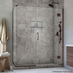 "DreamLine Unidoor X 45 5""W x 30 375""D x 72""H Hinged Shower Enclosure Type 151059571 Shower Enclosures in Canada"