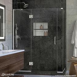 "DreamLine Unidoor X 59 5""W x 34 375""D x 72""H Hinged Shower Enclosure III Type 151060481 Shower Enclosures in Canada"