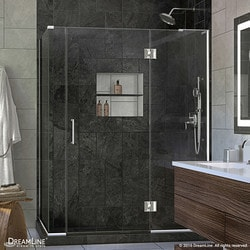 "DreamLine Unidoor X 57 5""W x 34 375""D x 72""H Hinged Shower Enclosure Type 151060661 Shower Enclosures in Canada"