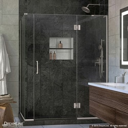"DreamLine Unidoor X 58""W x 30 375""D x 72""H Hinged Shower Enclosure IV Type 151060701 Shower Enclosures in Canada"
