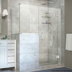 "DreamLine Unidoor X 48""W x 36 375""D x 72""H Hinged Shower Enclosure Type 151061381 Shower Enclosures in Canada"