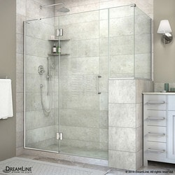 "DreamLine Unidoor X 60""W x 40 375""D x 72""H Hinged Shower Enclosure VII Type 151062341 Shower Enclosures in Canada"
