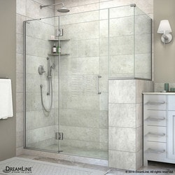 "DreamLine Unidoor X 59""W x 30 375""D x 72""H Hinged Shower Enclosure VII Type 151062201 Shower Enclosures in Canada"