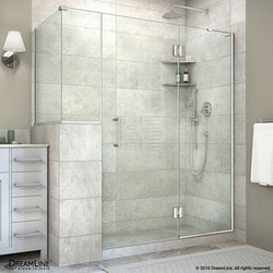 "DreamLine Unidoor X 59""W x 30 375""D x 72""H Hinged Shower Enclosure Type 151062371 Shower Enclosures in Canada"