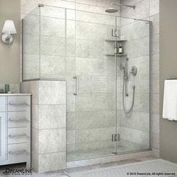 "DreamLine Unidoor X 60""W x 30 375""D x 72""H Hinged Shower Enclosure Type 151062471 Shower Enclosures in Canada"