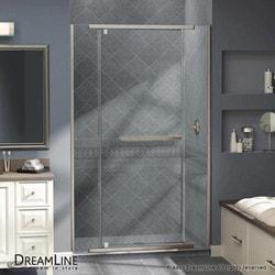 """DreamLine Vitreo X Frameless Pivot Door & SlimLine 36""""x48"""" Shower Base Type 151280211 Shower Enclosures in Canada"""