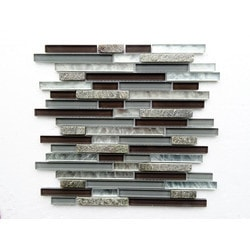 PALMARY Bliss Series Model 150768861 Kitchen Glass Mosaics