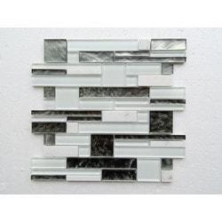 PALMARY Interlocking Series Model 150768971 Kitchen Glass Mosaics
