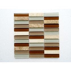 PALMARY Silk Series Model 150768811 Kitchen Glass Mosaics