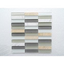 PALMARY Silk Series Model 150768831 Kitchen Glass Mosaics