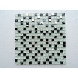 PALMARY Square Series Model 150769031 Kitchen Glass Mosaics