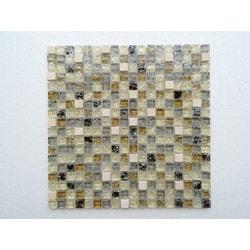 PALMARY Square Series Model 150769041 Kitchen Glass Mosaics