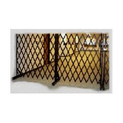Wholesale Gate Company Steel Folding Security Gates Model 151565101 Landscape Fences