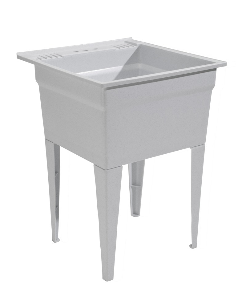 ... / 20 Gallon Capacity Laundry Tub / Utility Sink / Essential Sink Kit