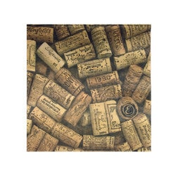Vinotemp Epicureanist Cork Party Napkins (20 per pack sold as a set of 4) Model 151722131 Kitchen Accessories