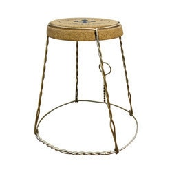 Vinotemp Champagne Cork Table Metal Model 151720921 Kitchen Accessories