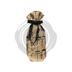 Vinotemp Epicureanist Jute Wine Bag (Pack of 2) Model 151722181 Kitchen Accessories