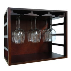 Vinotemp Epicureanist Stackable Wine Glass Rack Model 151721741 Kitchen Accessories