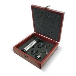 Vinotemp Epicureanist 4 Piece Wine Essentials Gift Set Model 151722061 Kitchen Accessories
